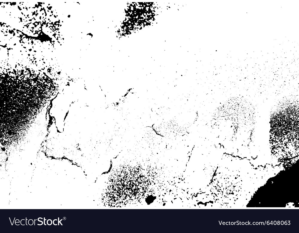 Grunge white and black wall background vector image