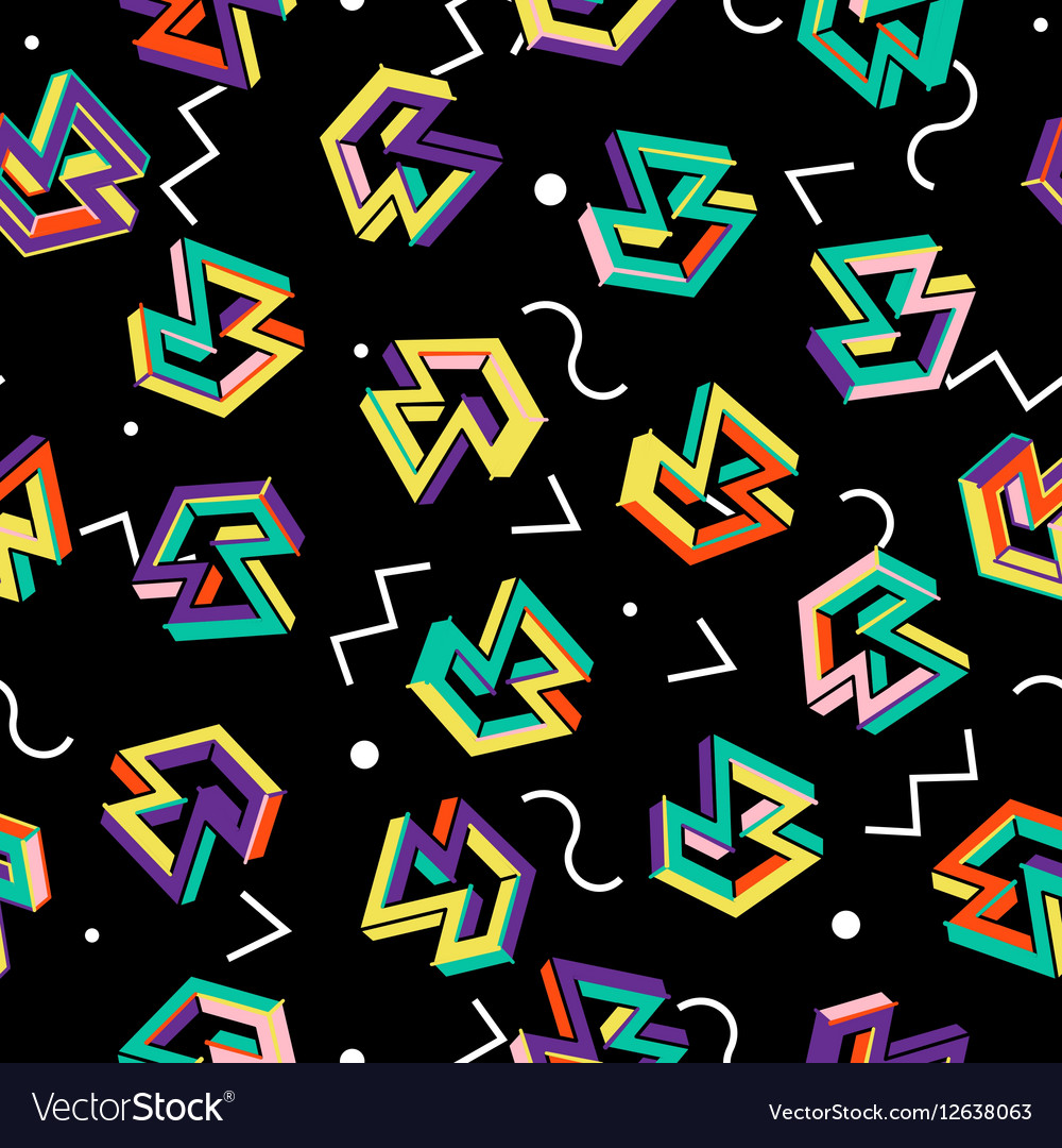 80s Pattern Awesome Decorating