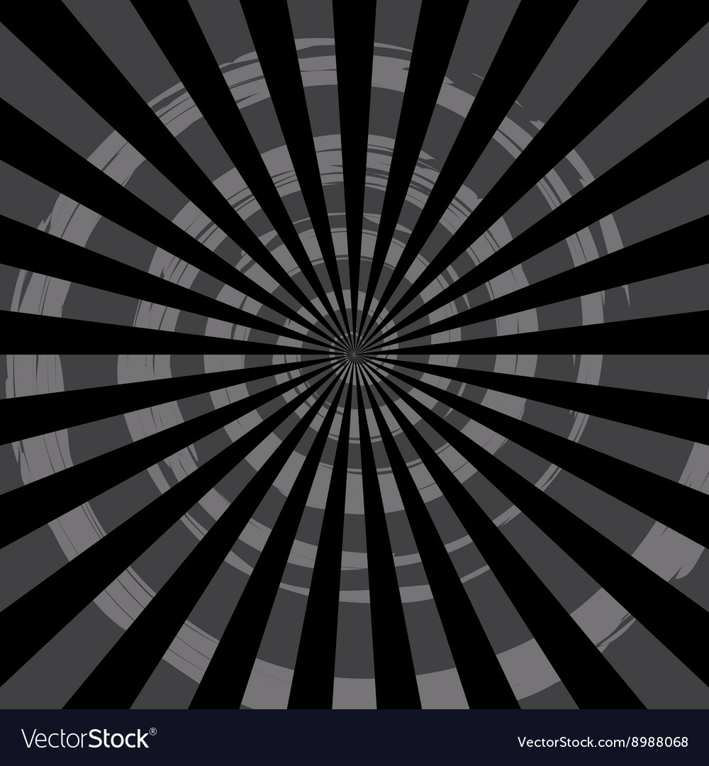 Abstract Burst Ray Background Black