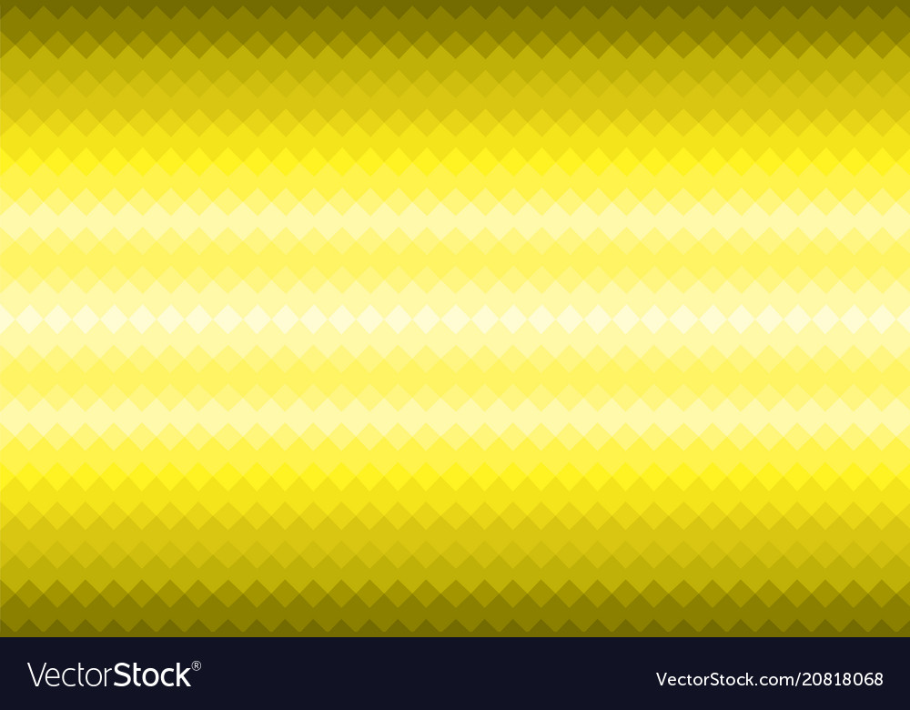 Texture of a gold metal surface glare vector image