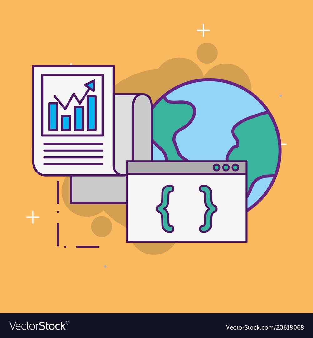 World website coding documents statistics