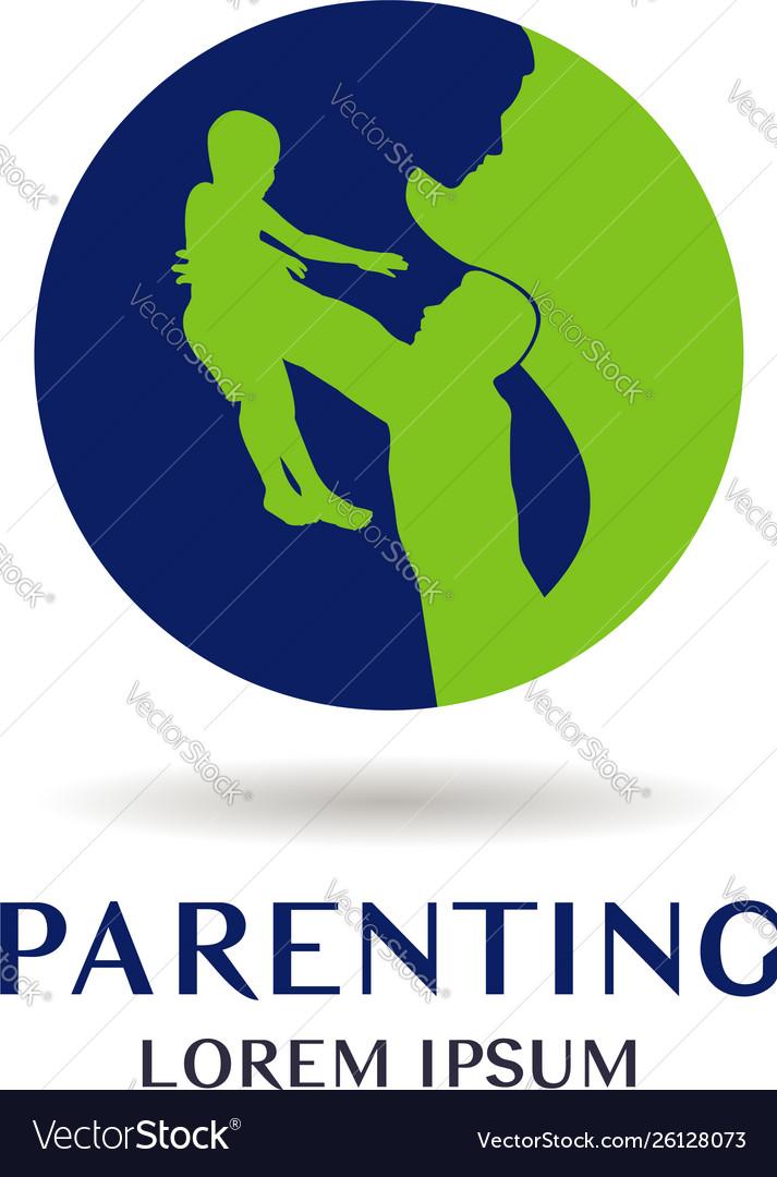Parenting logo sign symbol icon