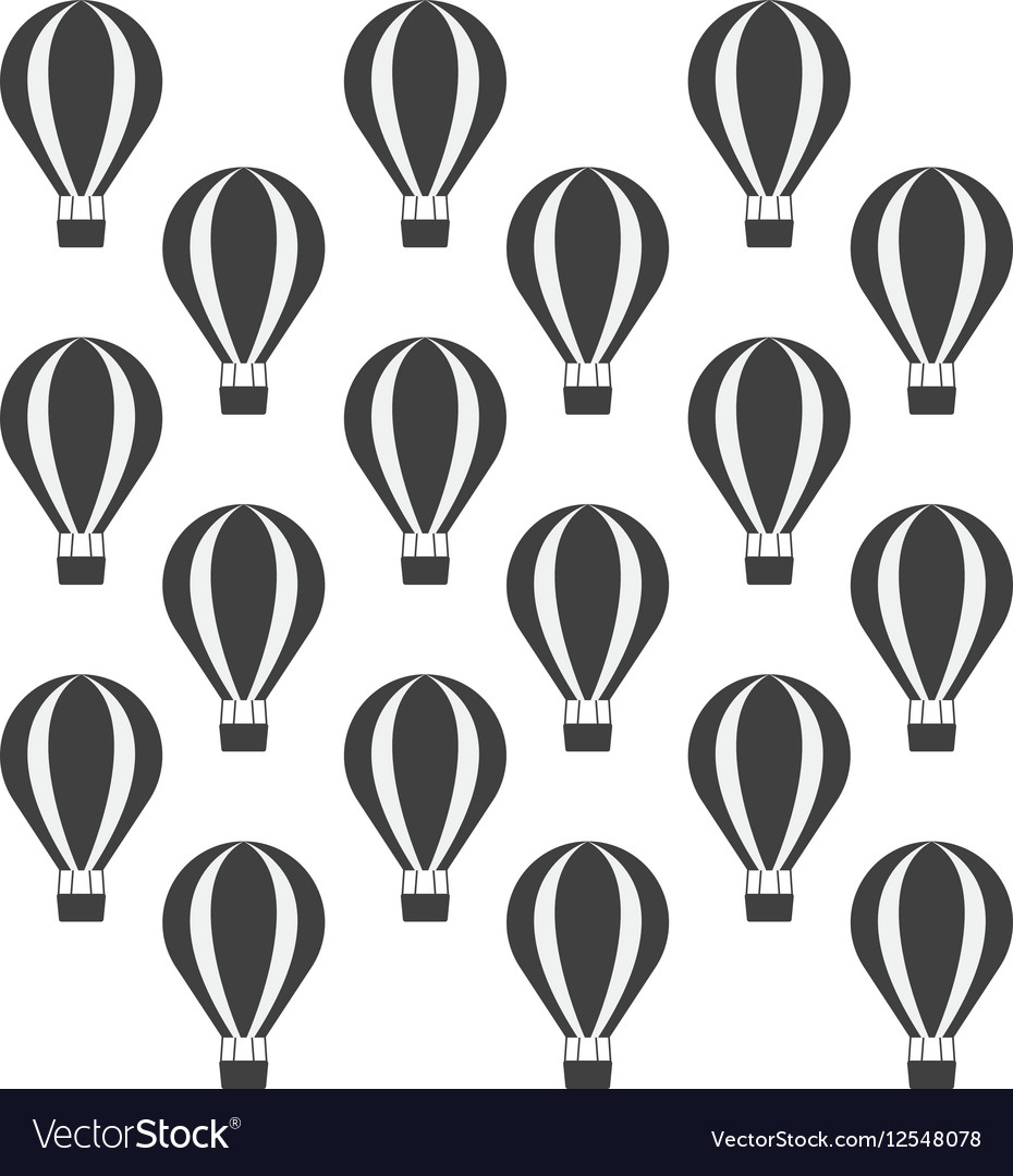 Airballoon recreation vacation travel seamless