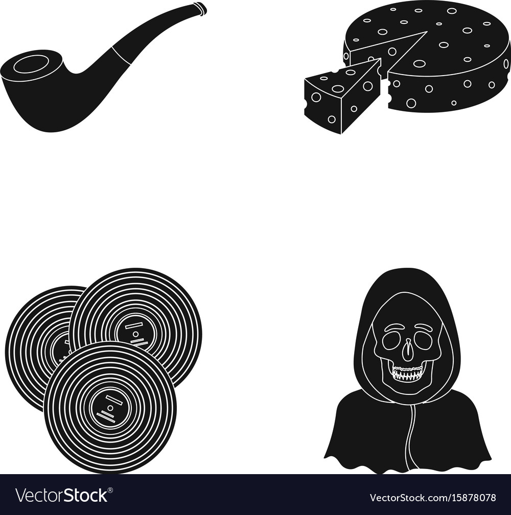 Police art and or web icon in black style ritual