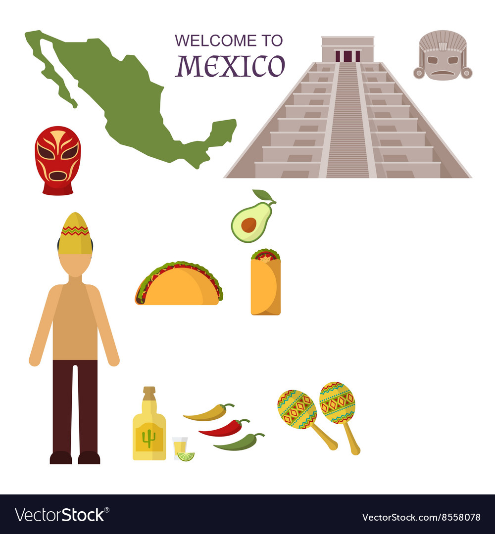 Welcome to mexico america guitar set