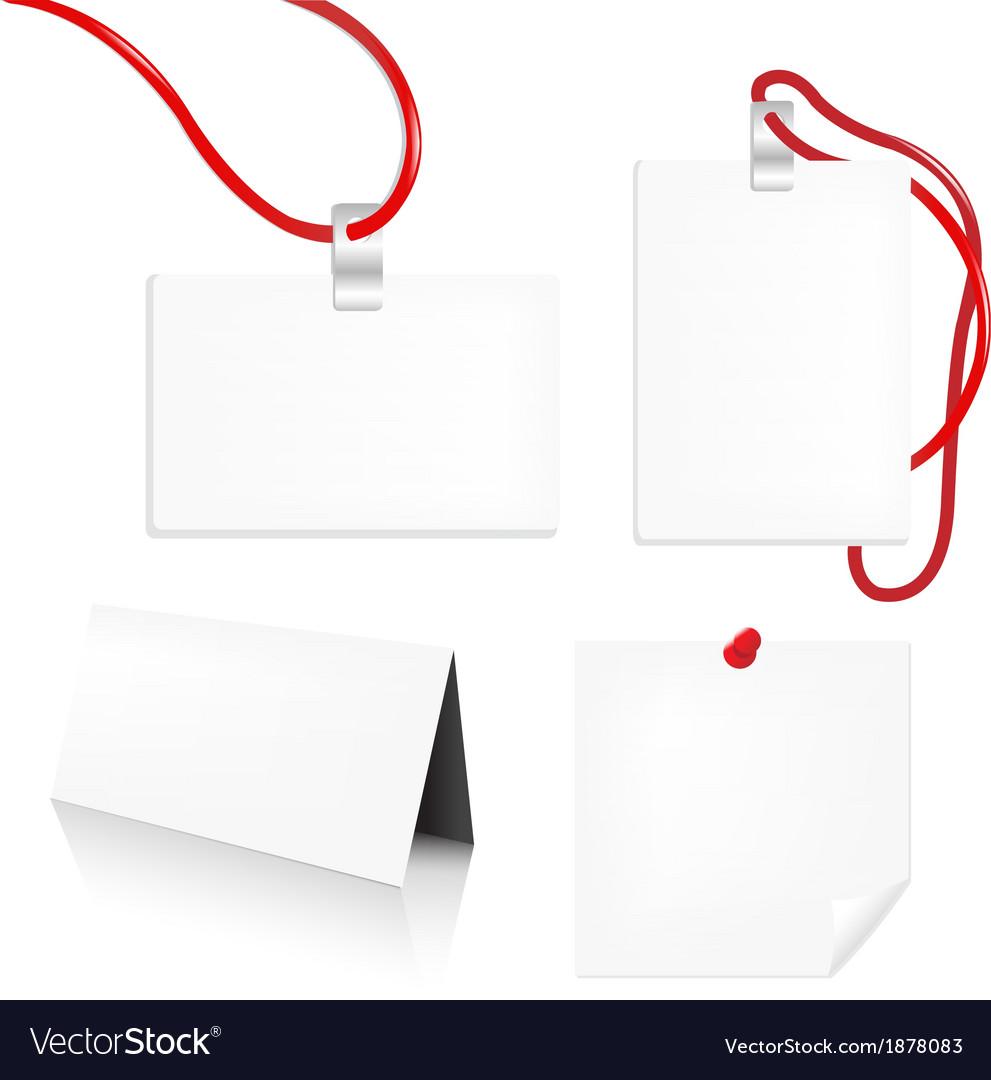 Badge Set vector image