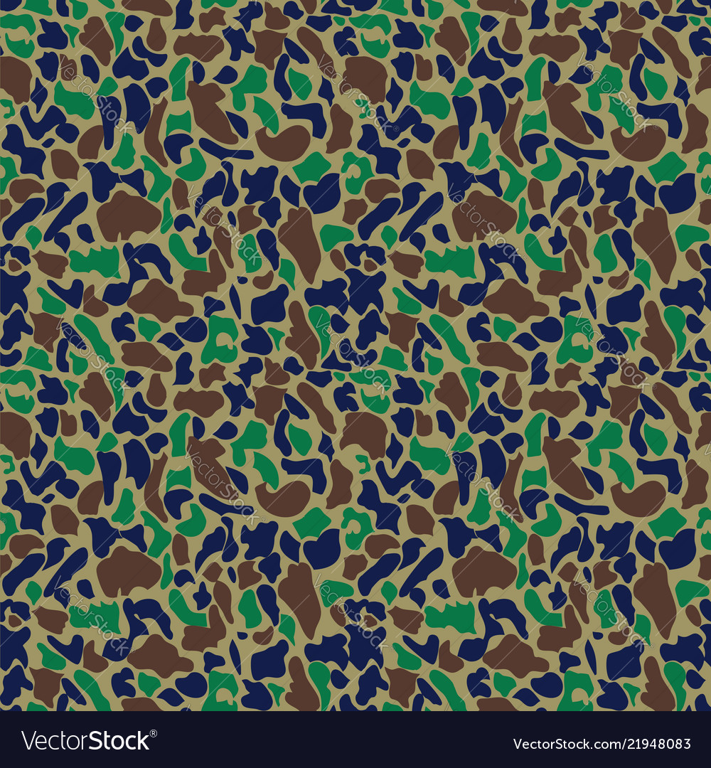 Camouflage pattern seamless military background