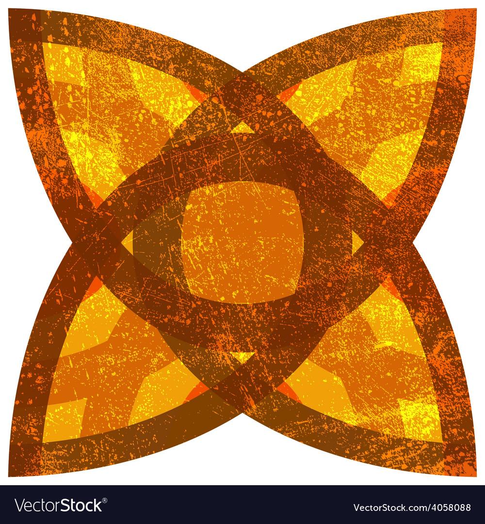 Isolated Grunge Symbol