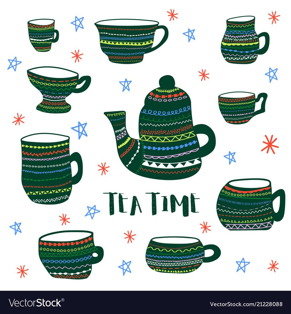 Tea time colored