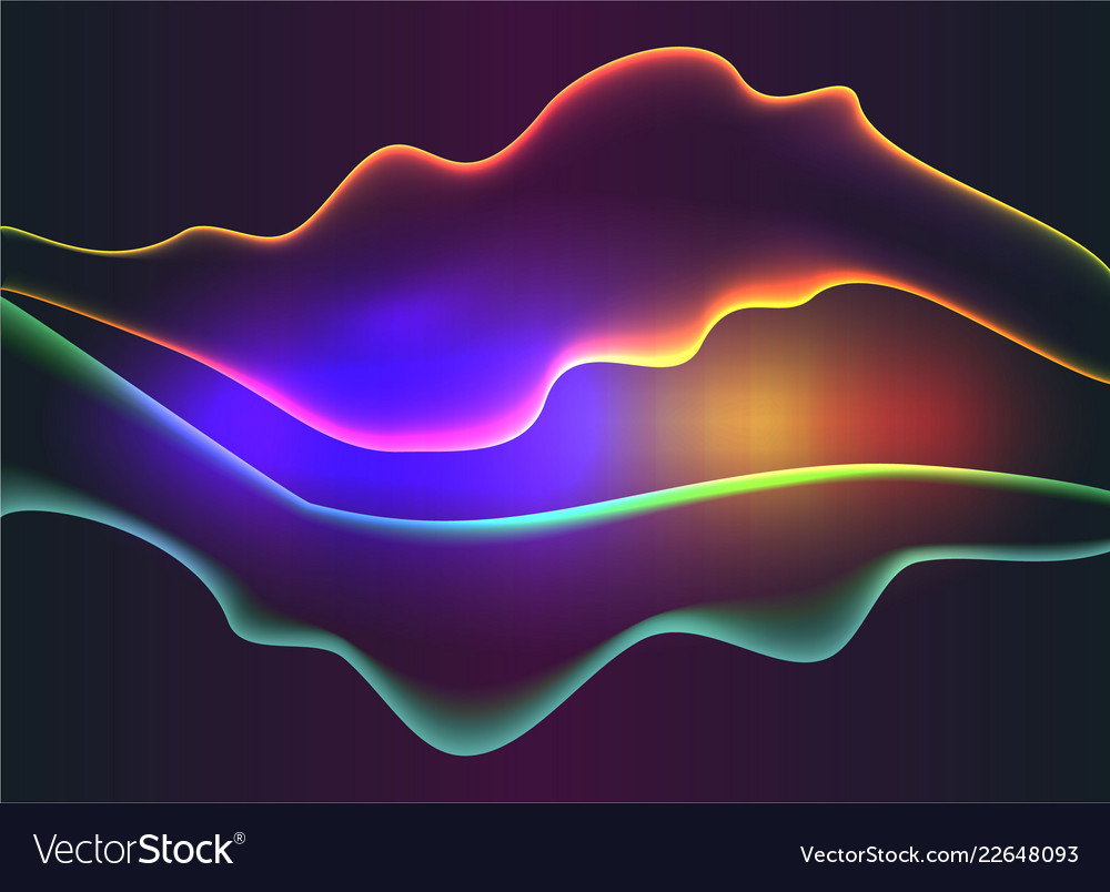 Abstract sound waves light equalizercool
