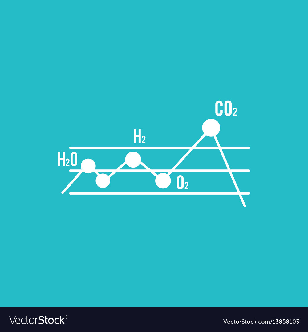Abstract science object vector image
