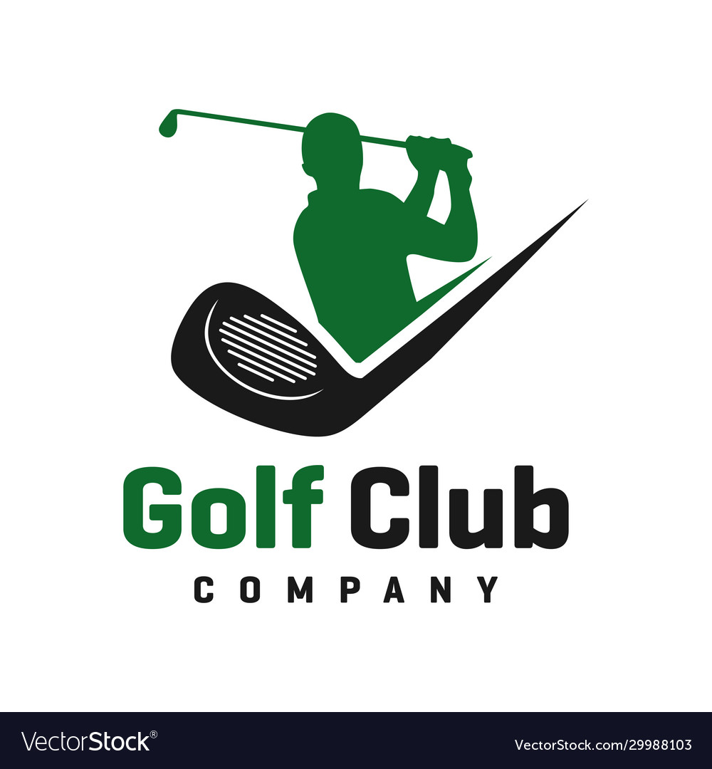 Golf sports logo design
