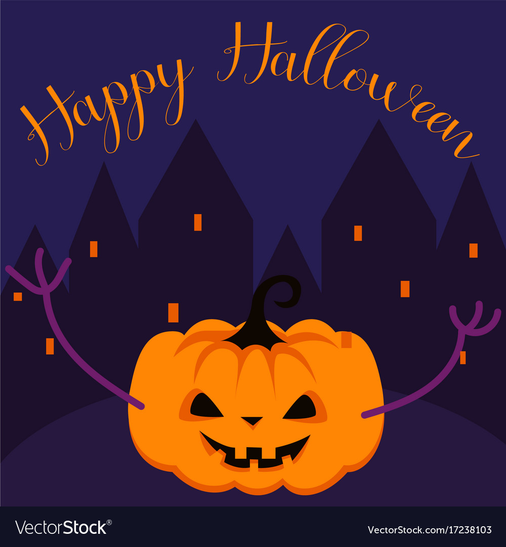 Halloween Greeting Card Kubreforic