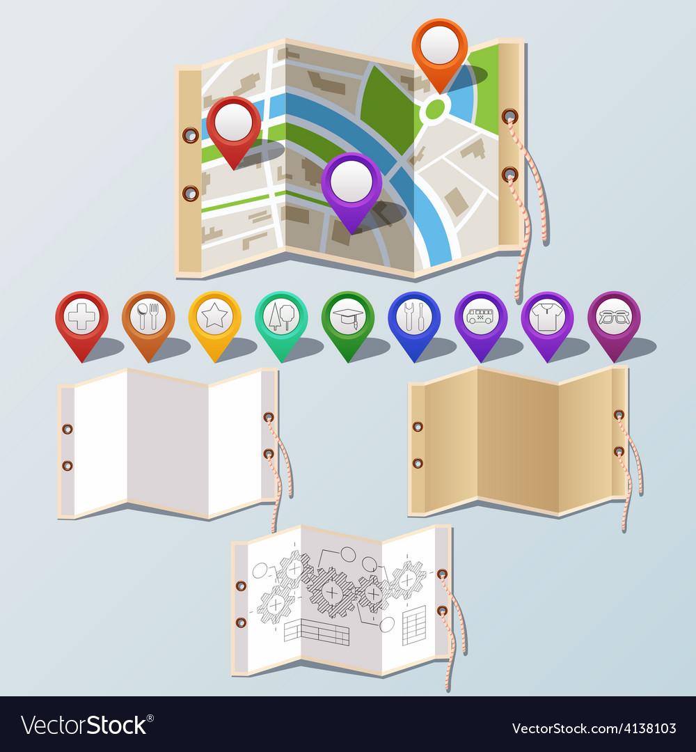 Navigation and paper set
