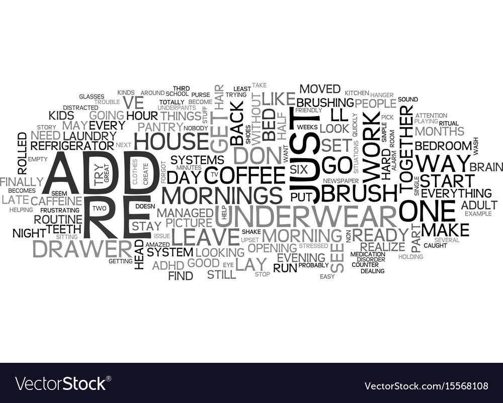 Add i m late text word cloud concept