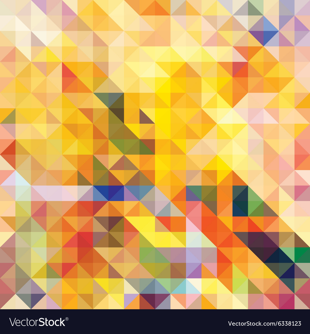 Abstract seamless pattern Mosaic