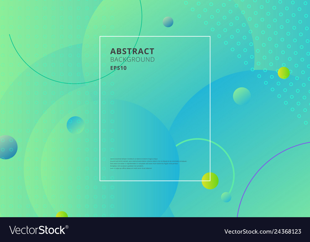 Creative trendy abstract minimal geometric