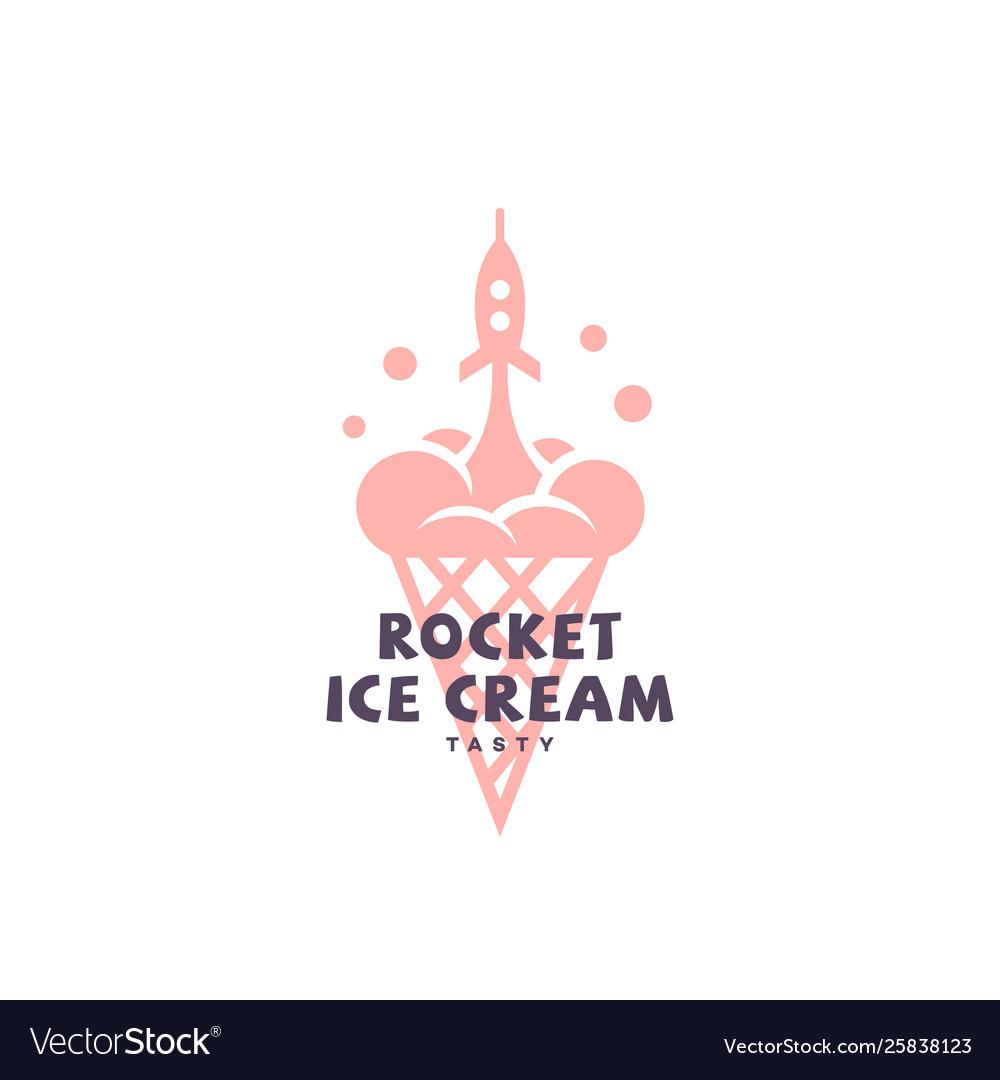 Rocket ice cream