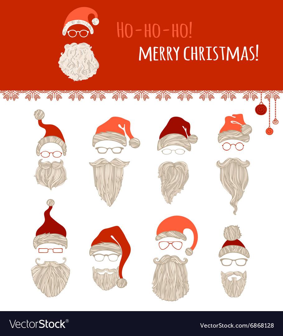 Ho-ho-ho Merry Christmas Royalty Free Vector Image