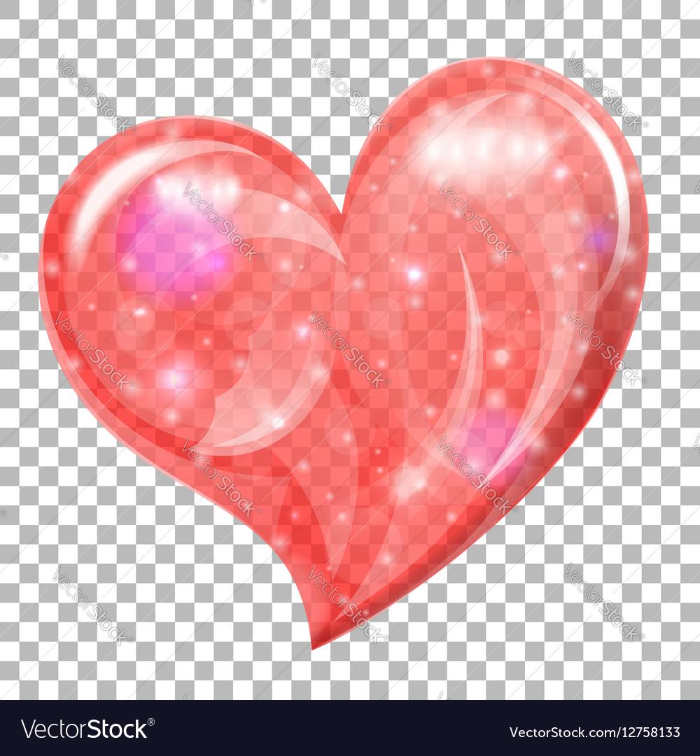Transparent Valentines Day Heart