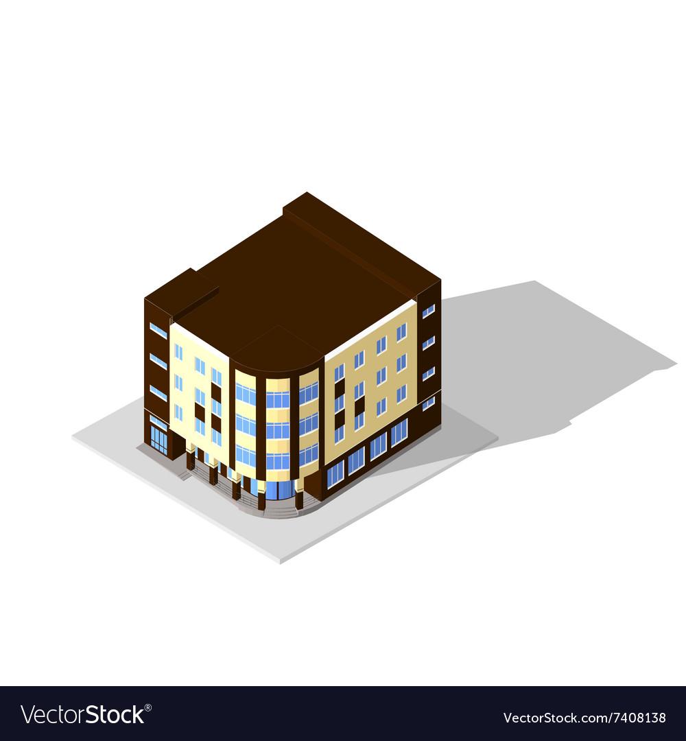 Isometric 3D icon Pictograms house