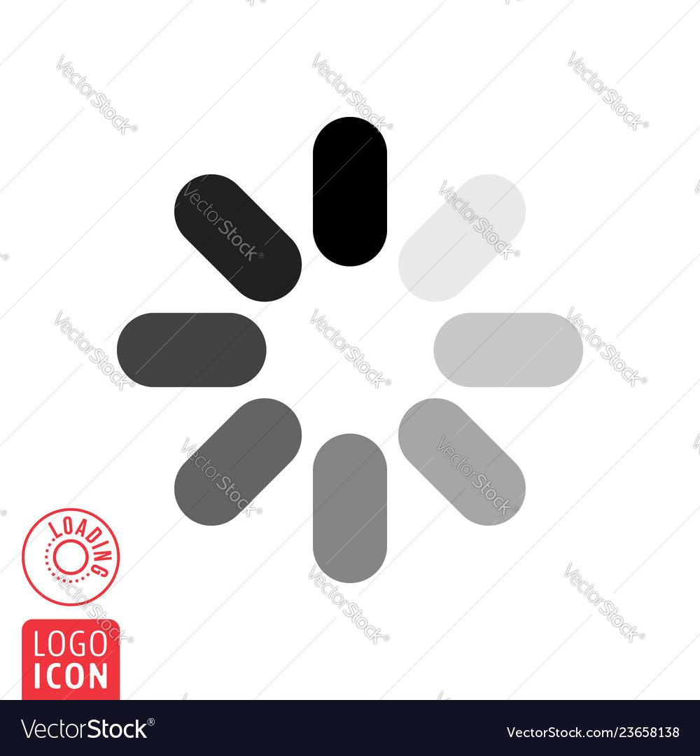 Loading icon on white backgroundloading icon