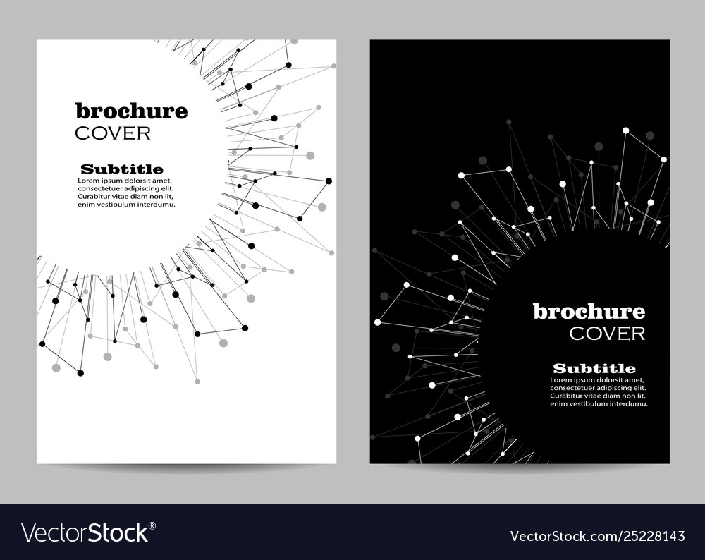 Brochure template layout design abstract