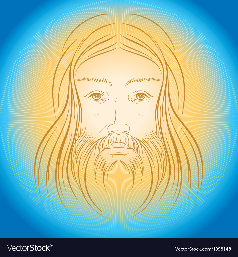 Jesus Christ shine light gloride rays