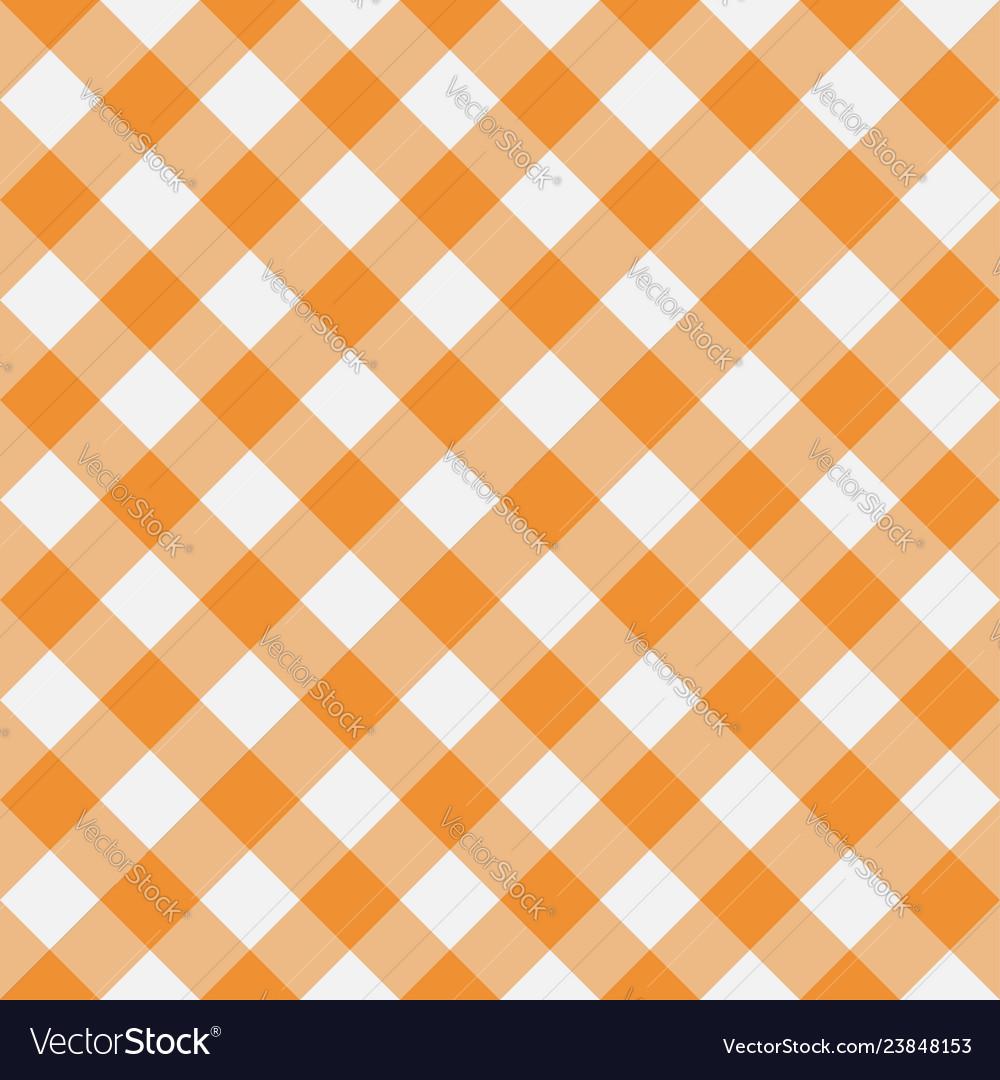 Gingham yellow diagonal