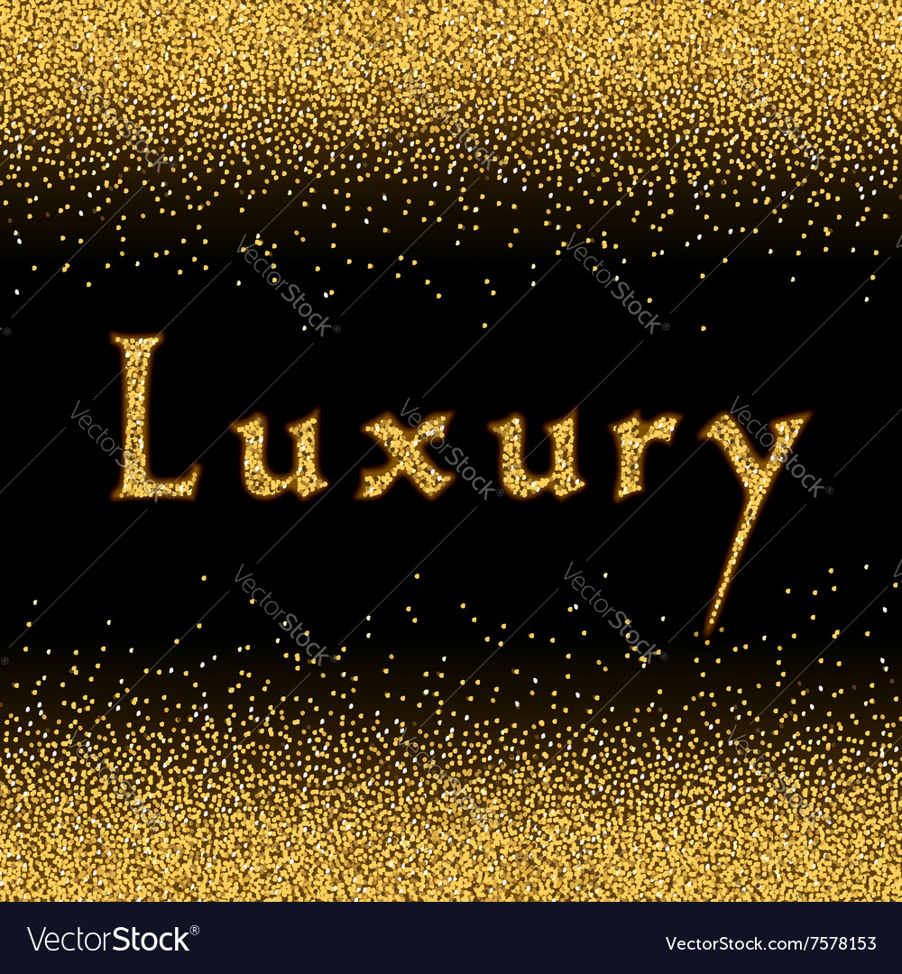 gold glitter texture template 1 royalty free vector image