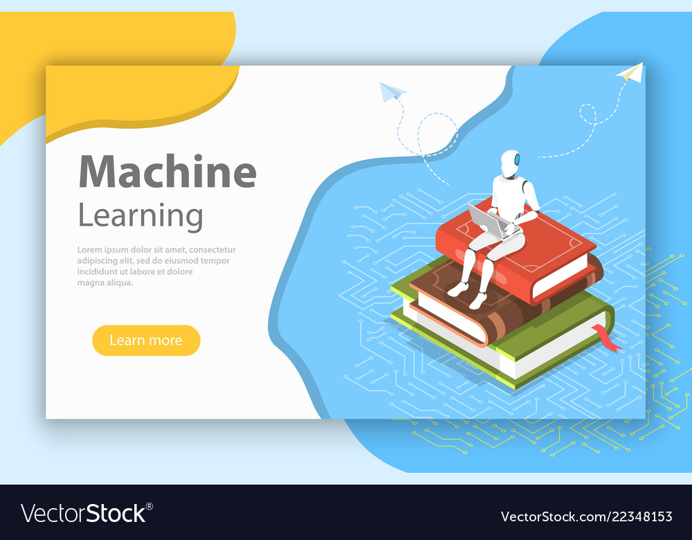 Machine learning isometric flat conceptual