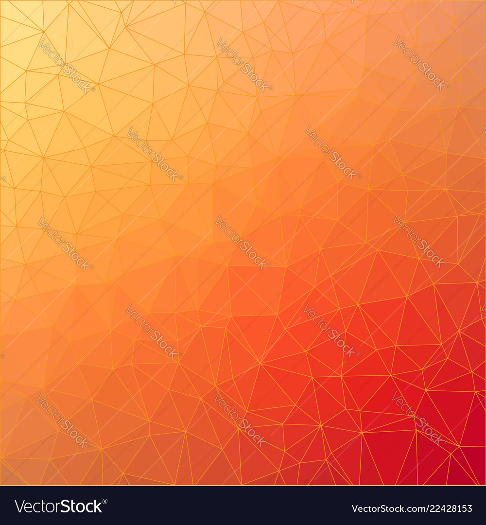 Polygonal abstract background template colorful