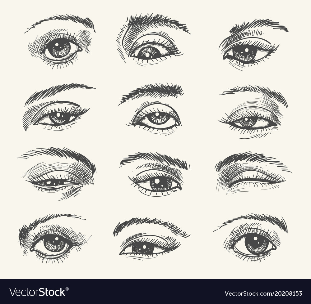 Vintage eyes collection