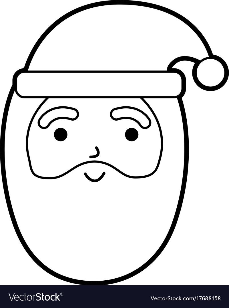 Christmas happy santa claus character