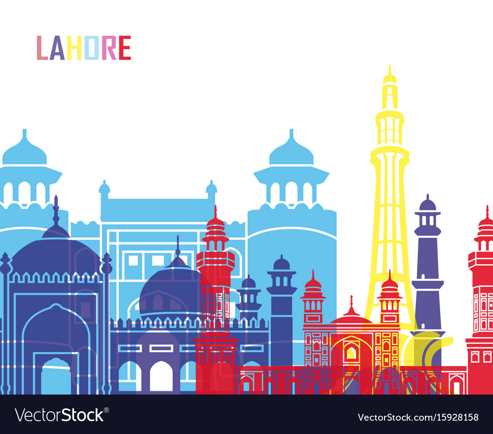 Lahore skyline pop