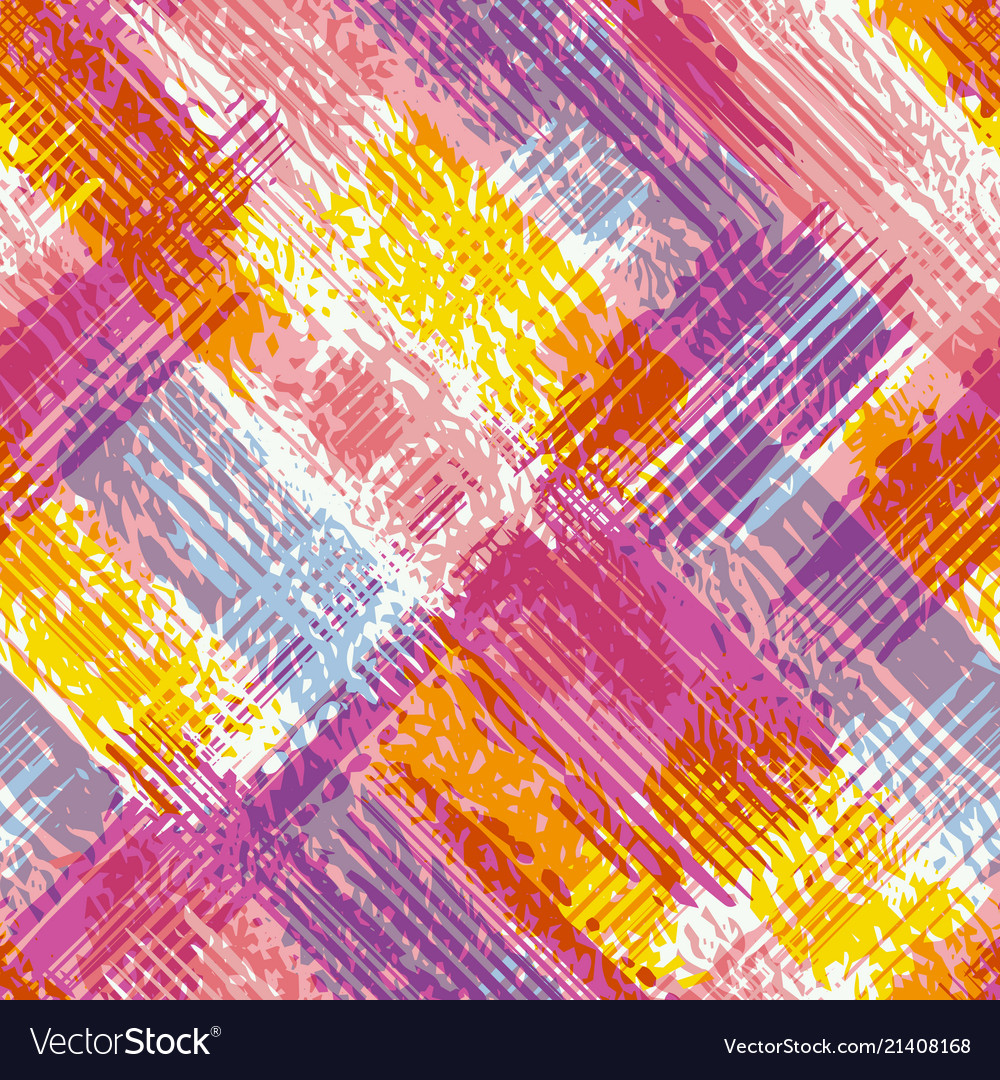 Abstract grunge seamless chaotic pattern