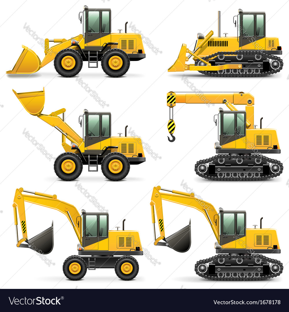 Construction Machines Set 3
