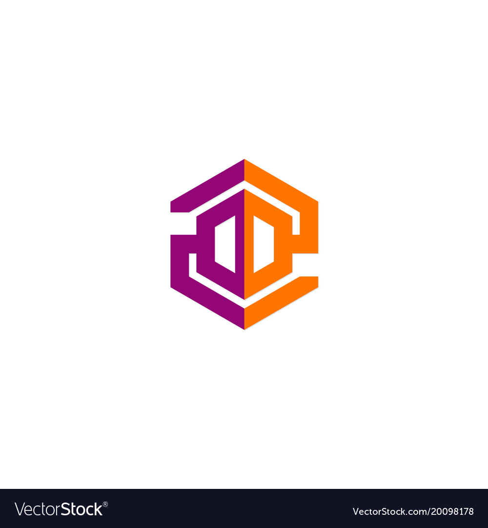 Polygon technology construction company logo
