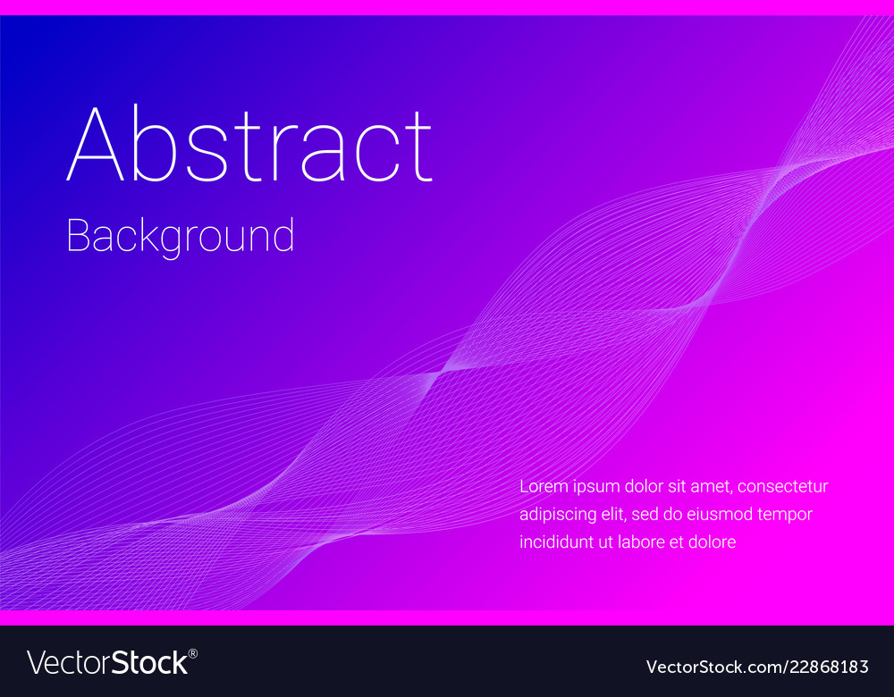 Abstract background with transparent wave