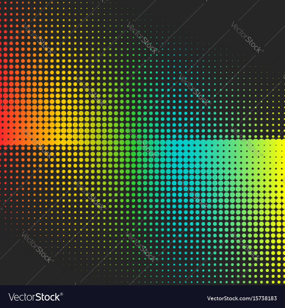Abstract colorful halftone minimalistic