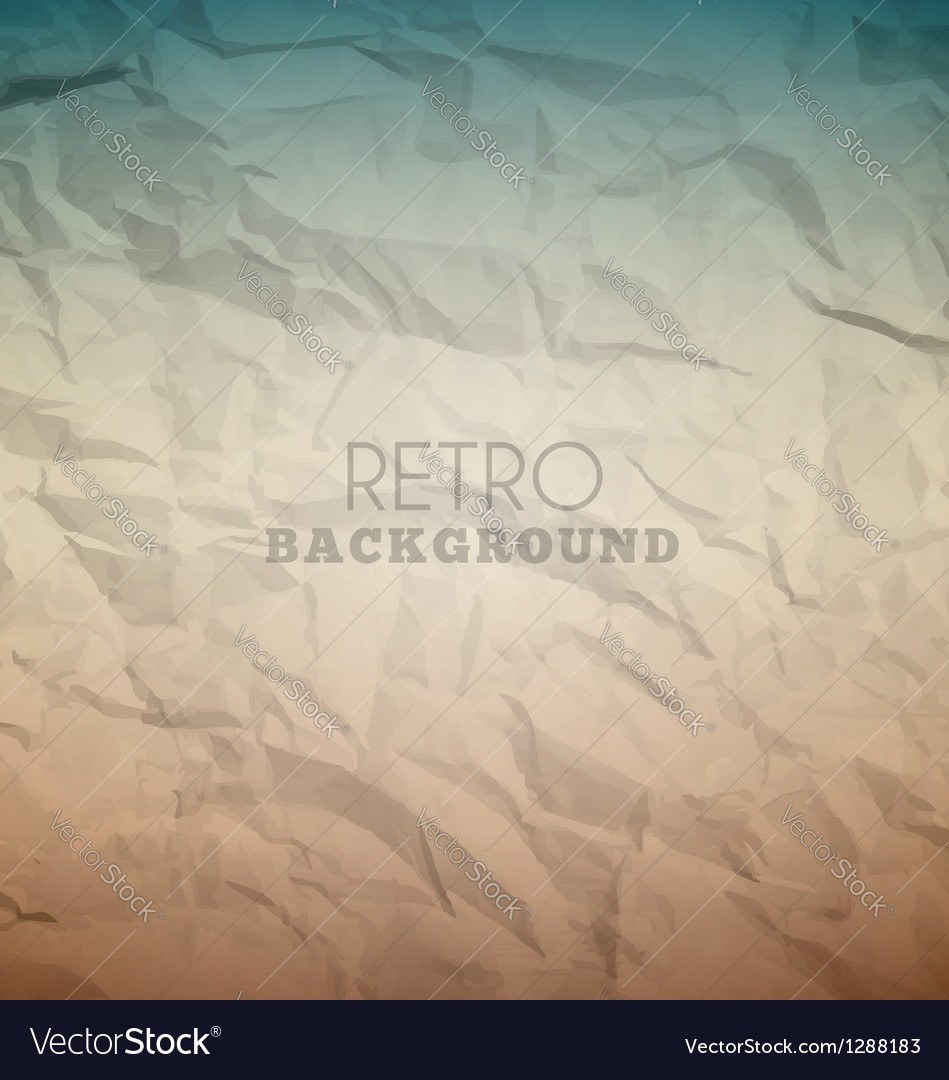 Retro crumpled background