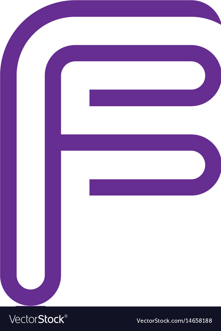 Creative letter f logo abstract business logo des