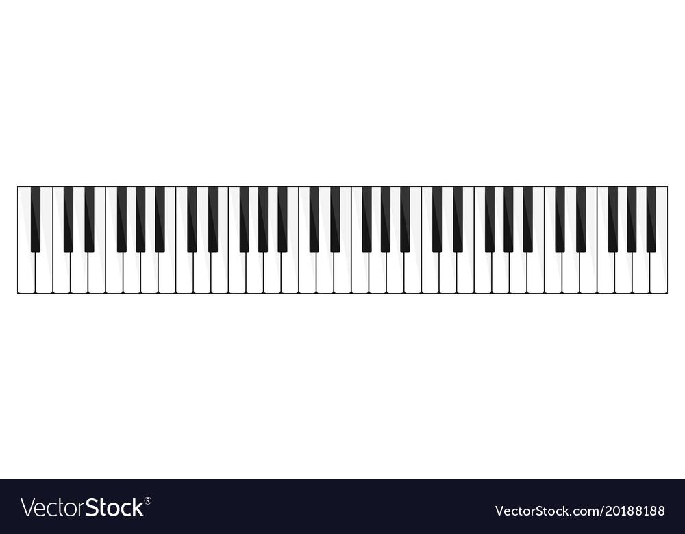 Piano keyboard image
