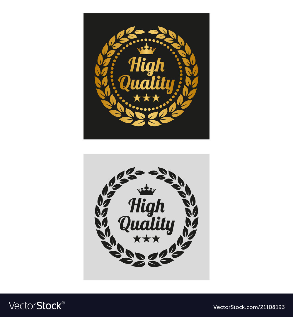 High quality laurel wreath in two versions