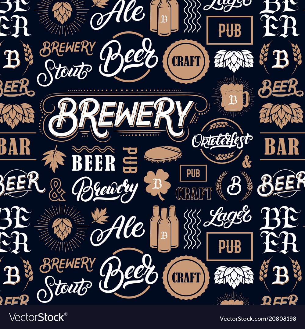 Beer brewery pattern