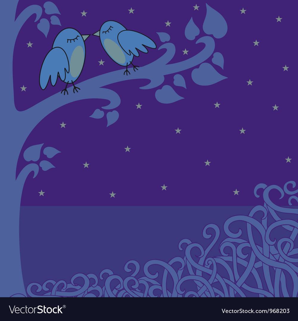 Birds in the night