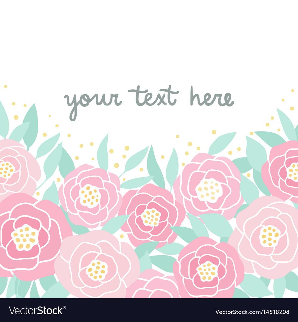 Cute pink peonies