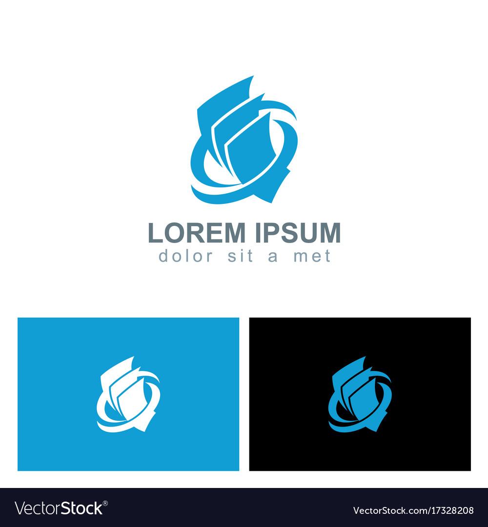 Paper document business company logo