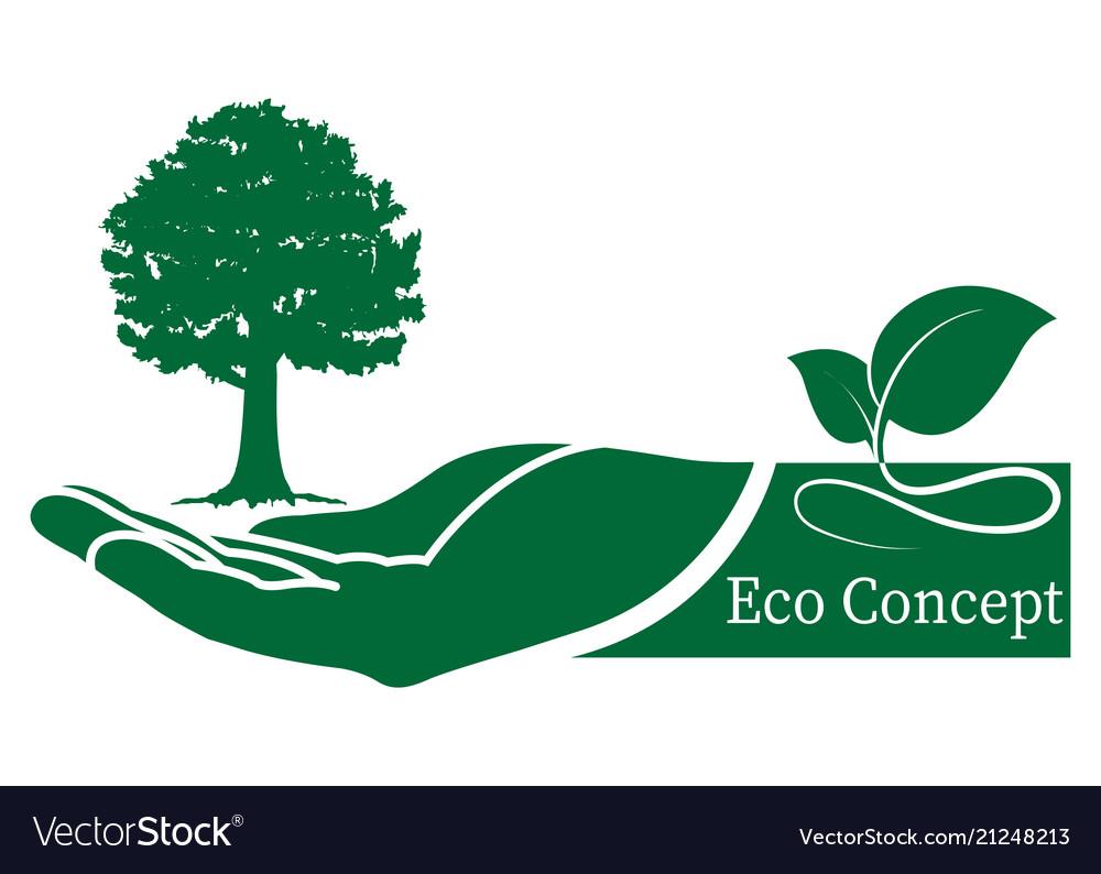 Green tree logo