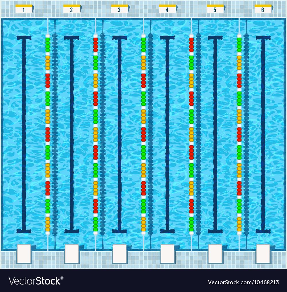Swimming pool flat